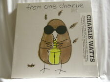 CHARLIE WATTS From One Charlie SEALED CD Box Set plus Book Rolling Stones Parker