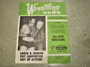 Vintage Wrestling News Magazine Denver CO Volume 1970 Number 29 All Star AWA