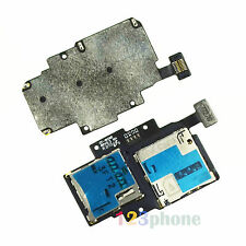 New Sim + SD Slot Tray Holder Flex Cable For Samsung Galaxy Premier i9260