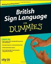 British Sign Language For Dummies City Lit - DIGITAL FORMAT