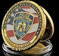 NYPD Challenge Coin USA New York Police Department Original Gift Collectibles