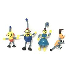 Rolie Polie Olie Action Figures Spot Dog Percy Robot Family Mini Toys Dad Mother
