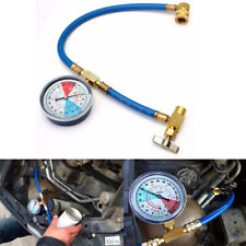 R134A Air Conditioning Refrigerant Recharge Hose Pipe Gauge Adapter For Car SUV
