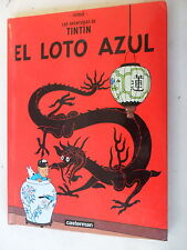 Tintin-el loto azul-hispano-Hardcover Klein-castermann-z. 2