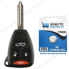 Replacement for Jeep 06-07 Commander 05-07 Cherokee Remote Car Key Fob Kobdt04a