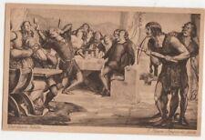 Der Blinde Schuetze E Krupa Krupinski Vintage Art Postcard Germany 439a