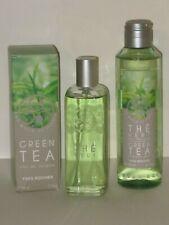 UN MATIN AU JARDIN GREEN TEA SET X 2 ( EDT SPRAY 100ml.+SHOWER GEL 200 ml) NEW!