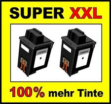 2x Cartuchos para Samsung FAX sf3000 sf3100 sf3200 COMO 15m0640 ink-m10 Negro