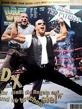 WWF WWE Magazin 1/98 1/1998 deutsch Wrestling + The Patriot Riesenposter