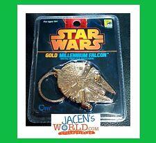 Millennium Falcon Keychain Gold Sdcc Exclusive Star Wars