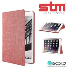 iPad Mini 4 Cover STM Atlas Lightweight Flip Cover Protective Folio Case Red