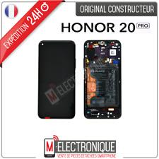 ECRAN LCD PHANTOM NOIR / VIOLET + BATTERIE ORIGINAL HUAWEI HONOR 20 PRO