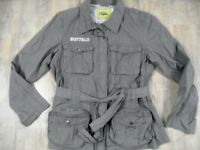 BUFFALO coole leichte Jacke Army-Stil khaki Gr. 46 TOP