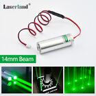 Thick Beam 532nm Green 50mW Laser Module for KTV Bar DJ Stage Lighting Effects