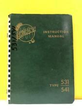 Tektronix 070 203 Cathode Ray Oscilloscope Type 531541 Instruction Manual