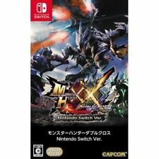 Nintendo Switch MONSTER HUNTER XX Double Cross JAPAN / AIRMAIL with TRACKING