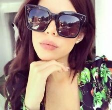 OVERSIZED Sunglasses TILDA 1 Women Lady Flat Top Big Huge Sunnies Gafas SHADZ