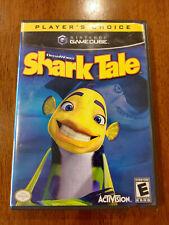 DreamWorks' Shark Tale (Nintendo GameCube, 2004) GOOD, W/MANUAL! DISC NEAR MINT