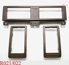 3 x BROWN AIR VENT FRAME FOR NISSAN NAVARA D21 TERRANO 1989-1997  90 91 92 93