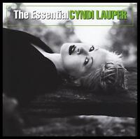 CYNDI LAUPER - THE ESSENTIAL CD ~TRUE COLOURS~TIME AFTER TIME~SHE BOP 80's *NEW*