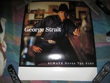 GEORGE STRAIT-(always never the same)-24X28 POSTER-MINT-RARE