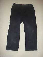 Gloria Vanderbilt * BLACK Stretch CAPRIS * Cropped Pants * sz 6 * EUC (worn 1x)