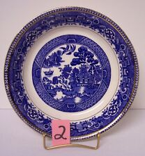 Alfred Meakin Old Willow Blue Soup Bowl 1930's #2