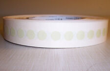 """NEW 3M ROLL DOT CIRCLE LABELS ADHESIVE PISTACHIO COLORED 218 DIA 3/8"""" (.30"""""""