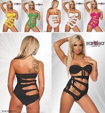 SARESIA Monokini Gogo Bikini Badeanzug in 5 Farben, XS S M L XL