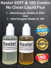 100ml Kester 959t Amp 186 Combo Dropper Tip Bottles With Precise Drip Control Tip