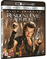 Resident Evil Afterlife 4k UHD + Blu Ray (Region Free)
