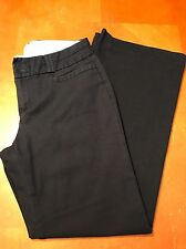 Banana Republic Womens Petite 4 Black Pants Jackson Fit Career