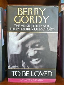 SIGNED Berry Gordy autobiography book music magic memories of Motown To Be Loved