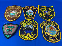 Various State Patches #33 Lot Of 6 Various Departments From United States