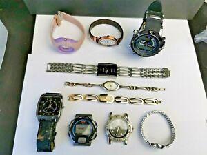 Job Lot of Various Mens / Ladies Quartz Watches for Parts / Spares