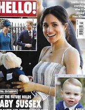 Hello Magazine Meghan Markle Prince Harry And Louise Amy Willerton Josie Natori