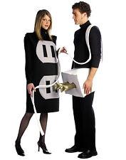 Rasta Imposta Plug And Socket Set Foam Tunic Adult Couple Halloween Costume 7212