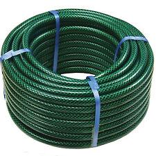 More details for garden hose pipe reel reinforced outdoor hosepipe green 30m 50m 75m 100m