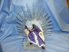 Enchantica Dragon Wizard On Ice Throne Vrorst L.E.D. Light New Boxed Collectable
