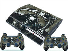 Death for PlayStation 3 PS3 Fat 2 Controller Skins Awsome Custom Stickers Scythe
