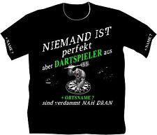 Dartshirt Dart T Shirt Scheibe Dartclub Dartsport Bekleidung Darthemden  76