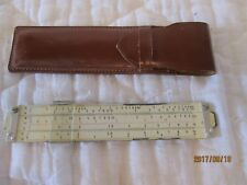 Eco Bra slide ruler Germany No. 1461 Graham Manufacturing Co. and Helflow Corp.