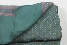 """Men's silk scarf 48""""x20 3/4"""" made in Italy"""