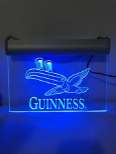 New listing Guinness Toucan Beer Led Neon Light Sign Man Cave Bar Club Pub Purple 8x12