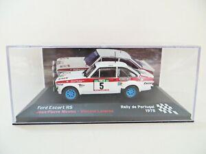 ALTAYA 'FORD ESCORT RS' #5 RALLY DE PORTUGAL 1978. NICOLAS. 1:43. MIB/BOXED.