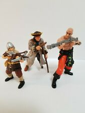 Papo Schleich Lot of 3 Medieval Fantasy Pirates