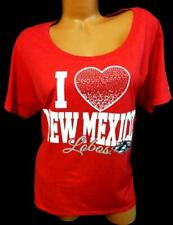 NWT Russell I heart new mexico lobos embellished stretch tee top 2XL 18W20W