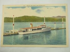 Beautiful Lake Coeur D'Alene Western Idaho G-151 Giant Post Card