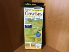 New listing Forever Cheese Bags Extra Thick Quality Goremt Trends 10 Reusable Zipper bags