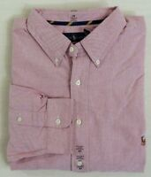Polo Ralph Lauren Pony Long Sleeves Button Down Classic Fit Oxford Dress Shirt